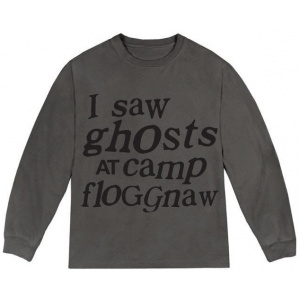 Kids See Ghosts I Saw Ghosts Long Sleeve Tee Core